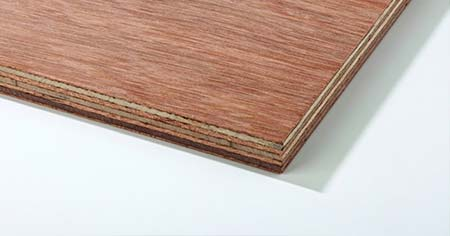 Hardwood Faced Plywood CE2+